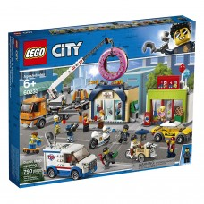 LEGO City 60233 Town Donut Shop Opening Toy Cars
